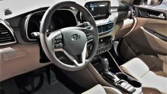 Hyundai Tucson 2018: la plancia