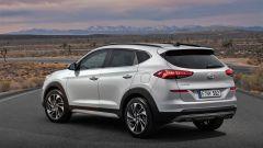 Hyundai Tucson 2018: vista 3/4 posteriore