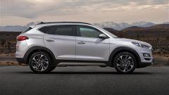 Hyundai Tucson 2018: vista laterale