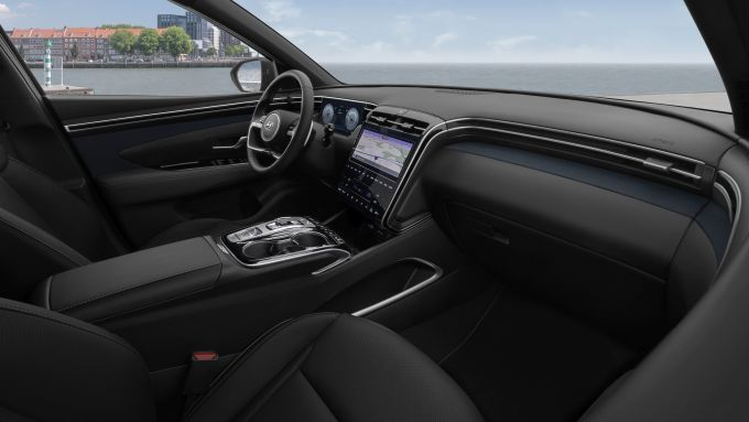 Hyundai Tucson 2020: la consolle senza tasti