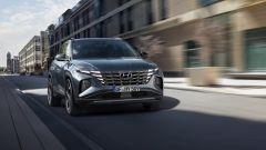 Hyundai Tucson 2020: visuale di 3/4 anteriore