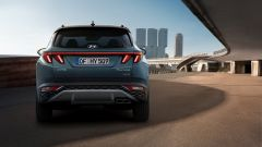 Hyundai Tucson 2020: visuale posteriore