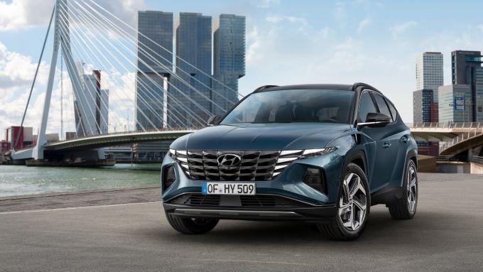 Hyundai Tucson 2021: frontale