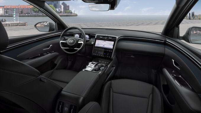 Hyundai Tucson 2021: interni