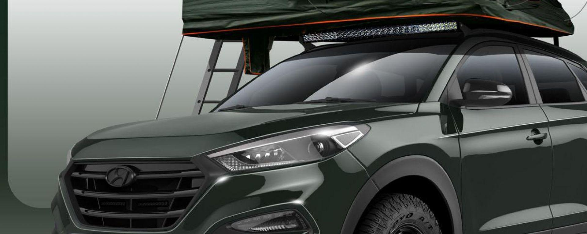 concept hyundai tucson adventuremobile motorbox. Black Bedroom Furniture Sets. Home Design Ideas