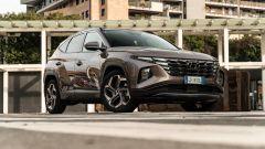 Hyundai Tucson Hybrid 2021: 3/4 frontale
