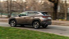 Hyundai Tucson Hybrid 2021: cerchi da 19