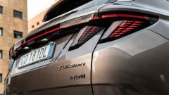 Hyundai Tucson Hybrid 2021: i fanali posteriori