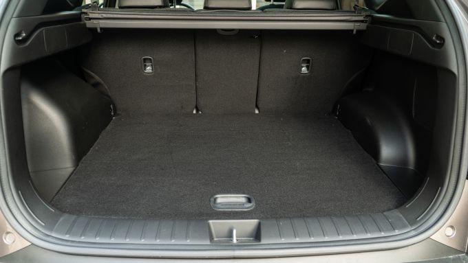 Hyundai Tucson Hybrid 2021: il bagagliaio