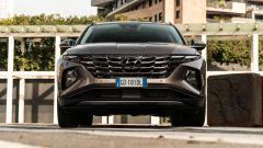 Hyundai Tucson Hybrid 2021: il moderno frontale
