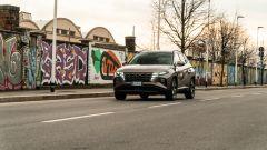 Hyundai Tucson Hybrid 2021: le luci diurne scompaiono nella calandra
