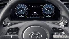 Hyundai Tucson Hybrid 2021: lo sterzo e il display digitale da 10,25