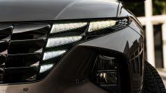 Hyundai Tucson Hybrid 2021: particolare dei fari