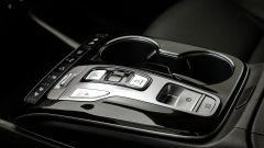 Hyundai Tucson Hybrid 2021: particolare della console centrale