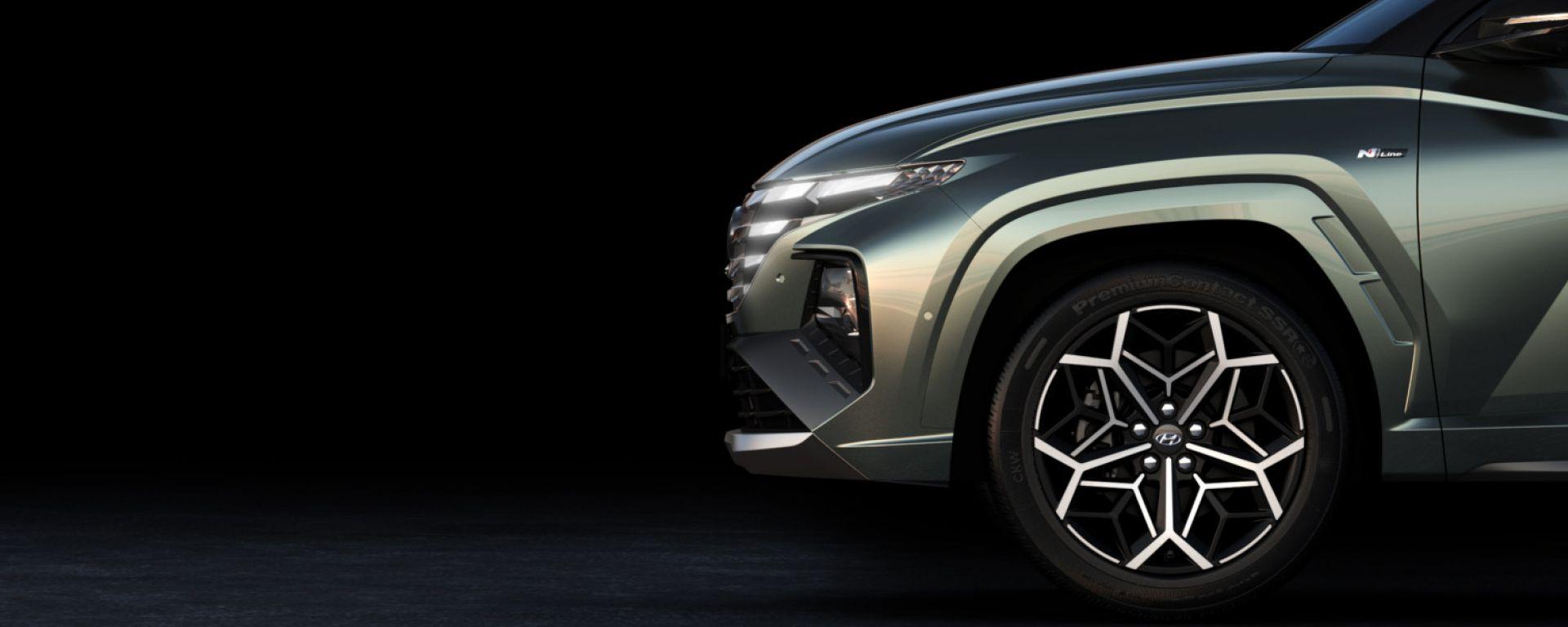 Hyundai Tucson N Line 2021, prime foto teaser