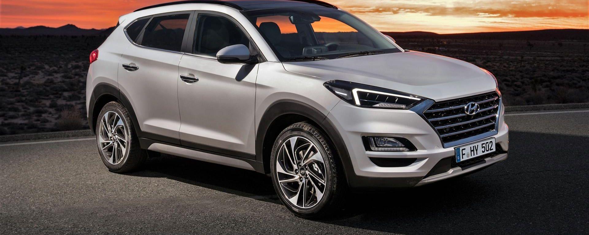 Hyundai Tucson, ora anche 1.6 CRDi Hybrid