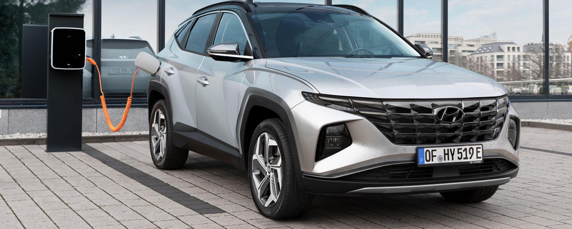 Nuova Hyundai Tucson Plug-in Hybrid, le specifiche motore e batterie
