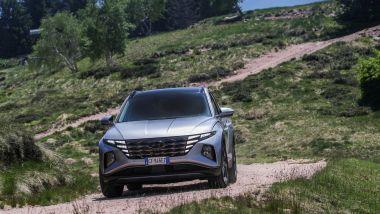 Hyundai Tucson plug-in hybrid: gli sterrati non sono un problema grazie alla trazione integrale