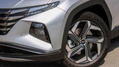 "Hyundai Tucson Plug-in Hybrid: i cerchi in lega da 19"""