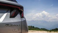 Hyundai Tucson Plug-in Hybrid: i gruppi ottici posteriori