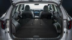 Hyundai Tucson Plug-in Hybrid: il bagagliaio con i sedili abbassati