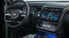 Hyundai Tucson Plug-in Hybrid: la console del guidatore