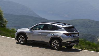 Hyundai Tucson plug-in hybrid: la prova su strada del SUV alla spina coreano