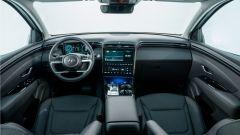Hyundai Tucson Plug-in Hybrid: l'abitacolo