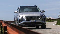 Hyundai Tucson Plug-in Hybrid: visuale anteriore
