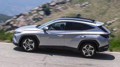 Hyundai Tucson Plug-in Hybrid: visuale laterale