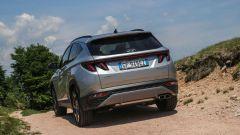 Hyundai Tucson Plug-in Hybrid: visuale posteriore