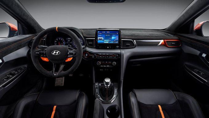 Hyundai Veloster N Performance Concept: gli interni