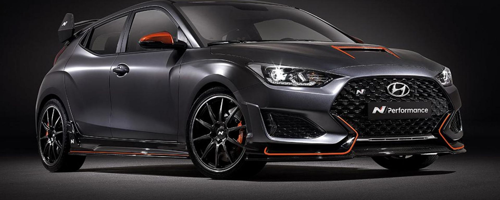 Hyundai Veloster N Performance Concept: il frontale