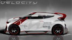 Hyundai Veloster Velocity Concept - Immagine: 5