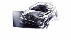 Hyundai Venue: vista 3/4 anteriore