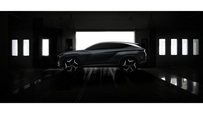 Hyundai Vision T concept laterale