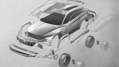 Hyundai Vision T Concept: primi disegni