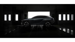 Hyundai Vision T Concept: vista laterale