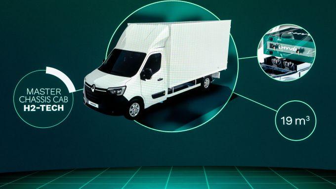 Hyvia: si parte con i furgoni a idrogeno