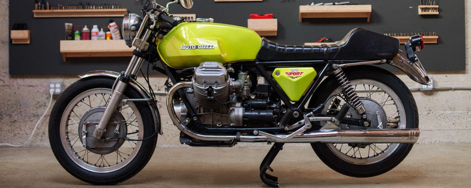 Moto Guzzi compie 100 anni: ecco l'asta speciale di Catawiki
