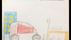 Nissan: i bambini disegnano l'auto del futuro - Immagine: 5