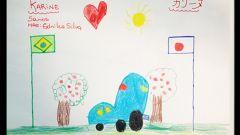 Nissan: i bambini disegnano l'auto del futuro - Immagine: 2
