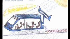 Nissan: i bambini disegnano l'auto del futuro - Immagine: 7