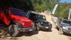 I BFGoodrich erano montati su Jeep Wrangler