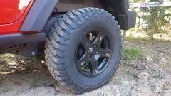 I BFGoodrich hanno una spalla tassellata per aumentare il grip con ogni angolazione della ruota