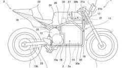 I brevetti della Kawasaki elettrica