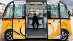 I bus a guida autonoma, a regime, porteranno 15 passeggeri