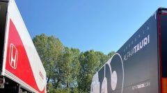 Alpha Tauri, filming day all'autodromo di Imola