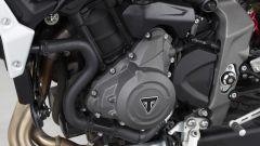 I carter grigi del motore 765 che equipaggia la Triumph Street Triple R