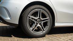 I cerchi del pacchetto AMG sulla Mercedes A 250 e